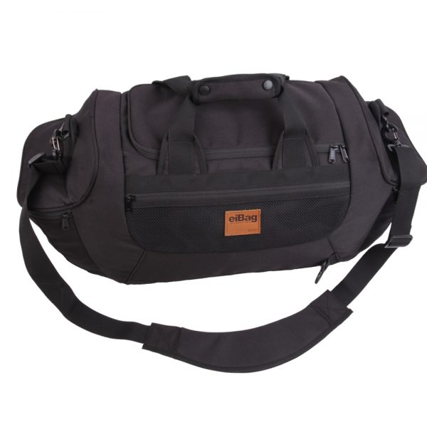 tas travel bag multifungsi eibag 609 hitam
