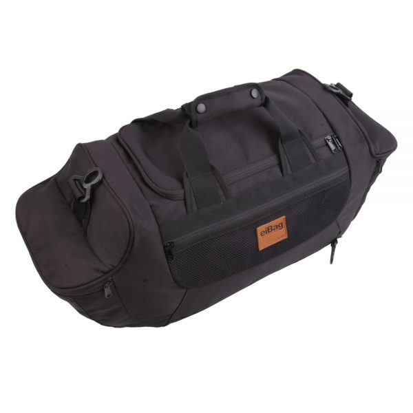 tas travel bag multifungsi - 3 in 1 eibag 609 hitam