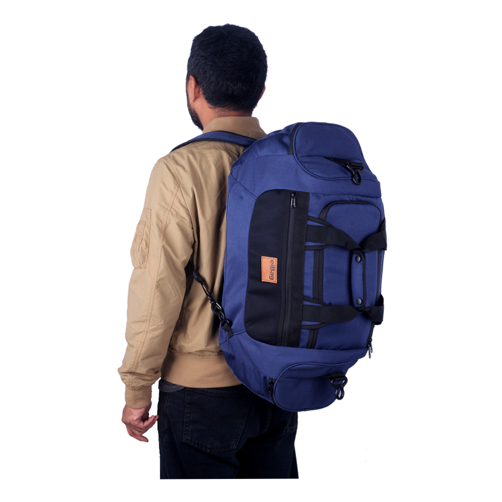 travel bag backpack multifungsi EIBAG 609 biru