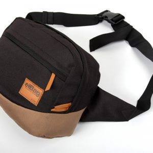 waist bag eibag 1528 hitam abu