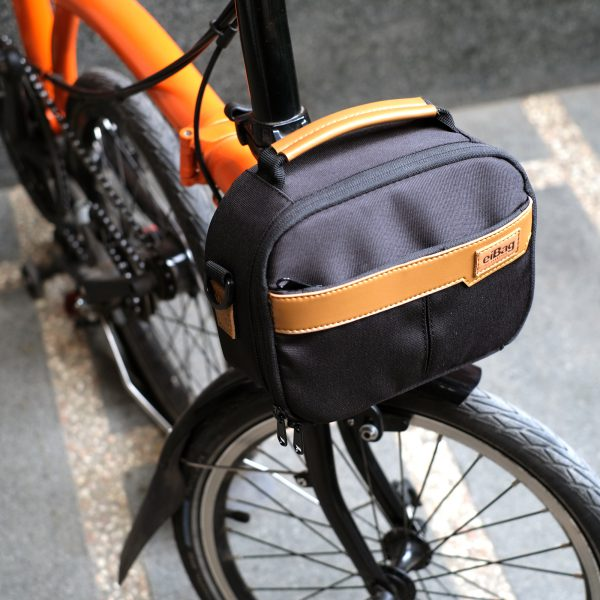 brompton bag series eibag mini fronto black