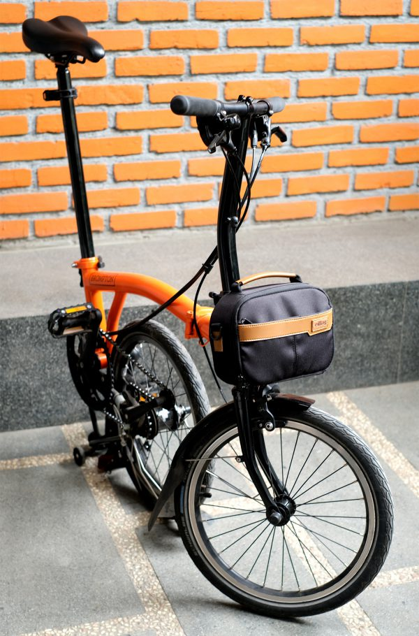 eibag mini fronto black - brompton bag series